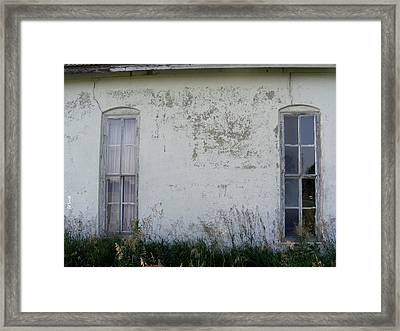 Double Vision Framed Print by Ed Smith