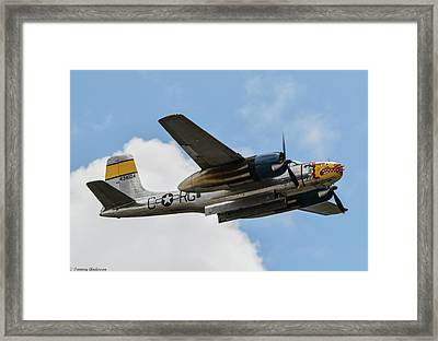 Douglas A-26 Invader Framed Print by Tommy Anderson