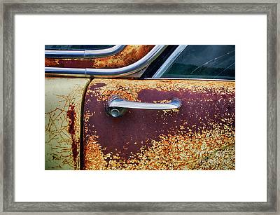 Down In The Dumps 15 Framed Print by Bob Christopher