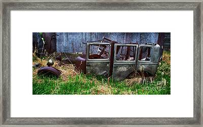 Down In The Dumps 21 Framed Print by Bob Christopher
