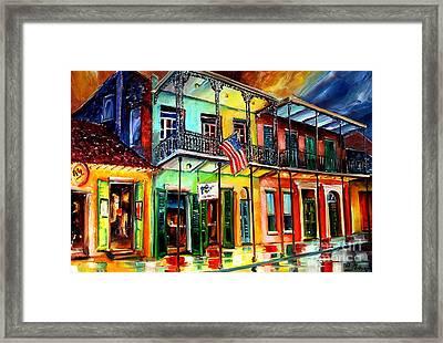 Down On Bourbon Street Framed Print by Diane Millsap