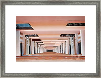 Down The Rabbit Hole Framed Print by Bob Hislop
