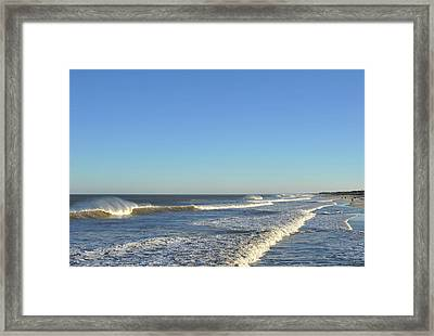 Down The Shore Seaside Heights Jersey Shore Framed Print by Terry DeLuco