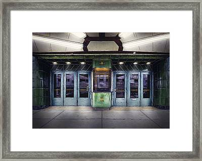 Downer Theater Box Office Framed Print by Scott Norris