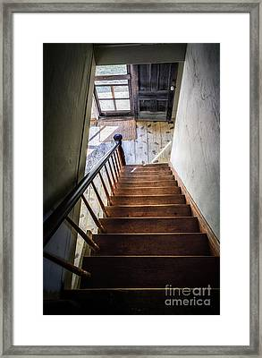 Downstairs Framed Print by Scott Thorp