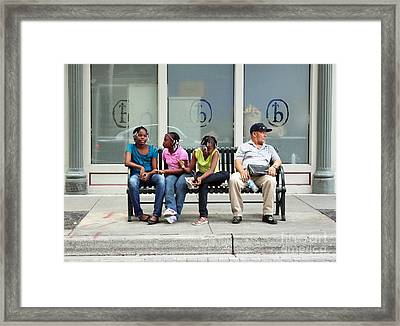 Downtown Adventure Framed Print by Joe Jake Pratt