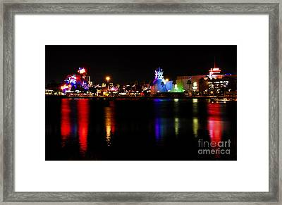 Downtown Disney  Framed Print by David Lee Thompson
