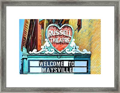 Downtown Maysville Kentucky # 4 Framed Print by Mel Steinhauer