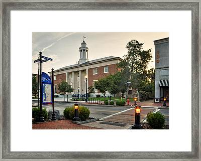 Downtown Wilmington Post Office Framed Print by Greg and Chrystal Mimbs