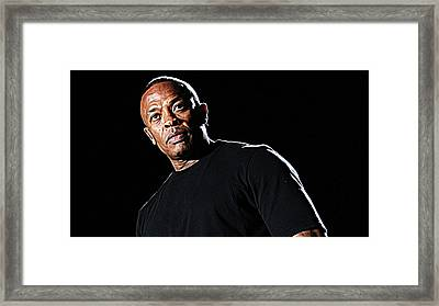 Dr. Dre Framed Print by Iguanna Espinosa