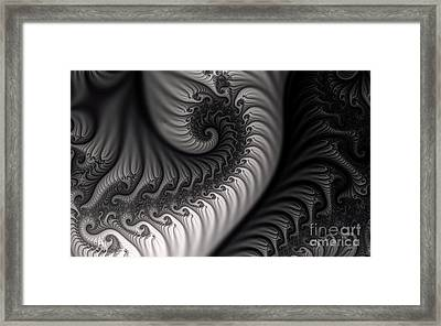 Dragon Belly Framed Print by Clayton Bruster