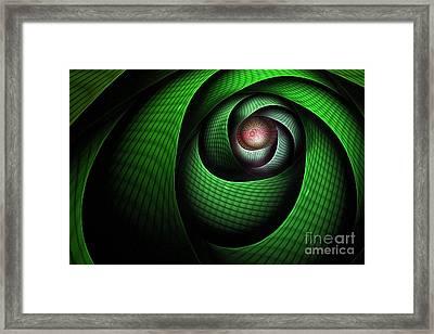 Dragons Eye Framed Print by John Edwards
