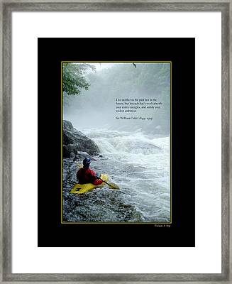 Dragons Tooth Poster Framed Print by Wayne King