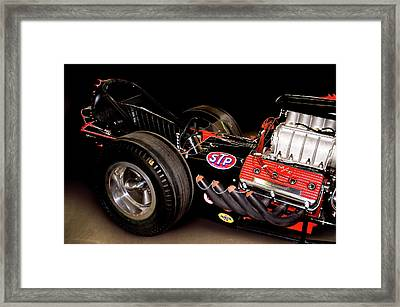 Dragster Framed Print by Charlie Prenzi