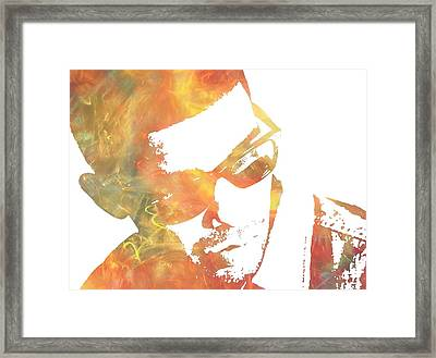 Drake Framed Print by Dan Sproul