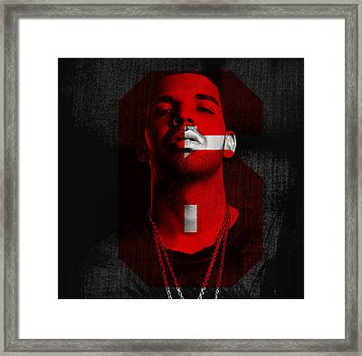 Drake Run The 6  Framed Print by Nicholas Legault