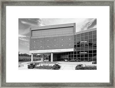 Drake University Cline Hall Of Pharmacy And Science Framed Print by University Icons