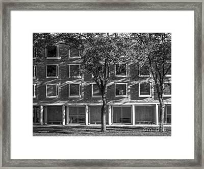 Drake University Goodwin Kirk Residence Hall Framed Print by University Icons