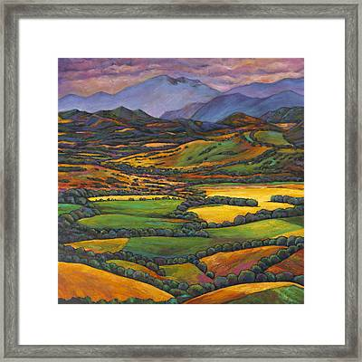 Draped In A Dream Framed Print by Johnathan Harris