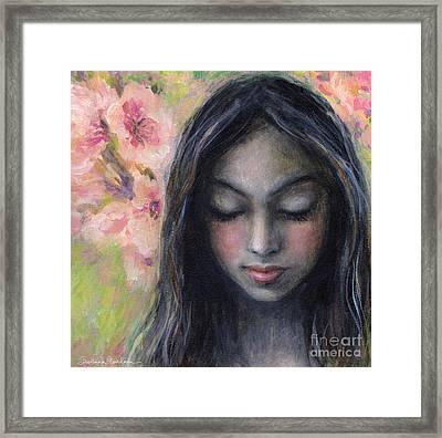 Drawing Near Framed Print by Svetlana Novikova
