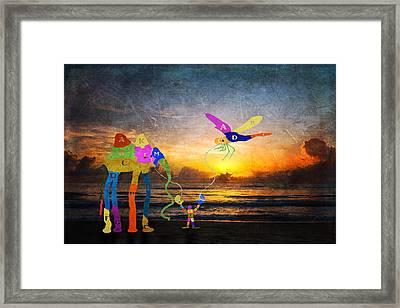 Dream-9 Framed Print by Rudy Umans