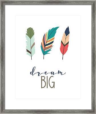 Dream Big Framed Print by Jaime Friedman