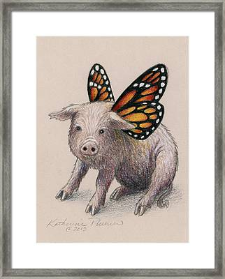 Dream Big Framed Print by Katherine Plumer