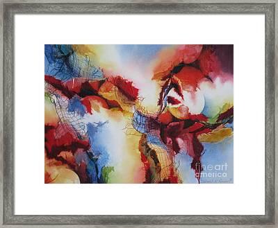 Dream Catcher Framed Print by Deborah Ronglien