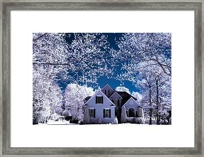 Dream Home Framed Print by Bayarerdene Ulziisaikhan