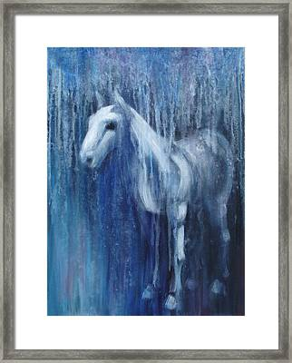 Dream Horse Framed Print by Katherine Huck Fernie Howard