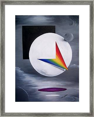 Dream In Color Framed Print by Arthur Covington