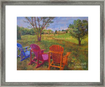 Dream It Framed Print by Arthur Witulski