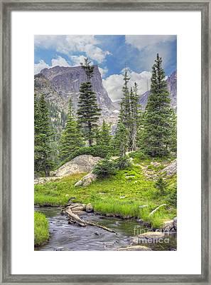 Dream Lake Framed Print by Juli Scalzi