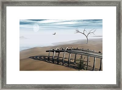Dream Lake Framed Print by Richard Rizzo