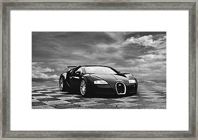 Dream Machine Bw Framed Print by Peter Chilelli