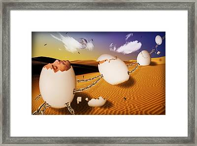 Dream Of Desert  Framed Print by Mark Ashkenazi