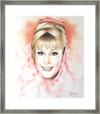 Dream Of Jeannie Framed Print by Lena Day