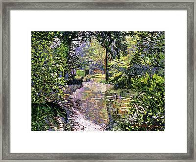 Dream Reflections Framed Print by David Lloyd Glover