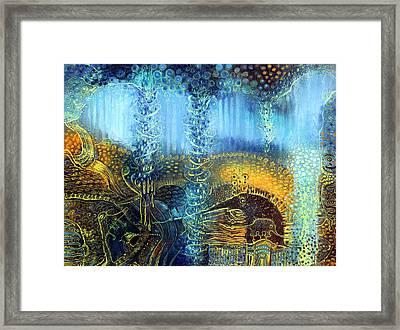 Dream Spinner Framed Print by Lolita Bronzini