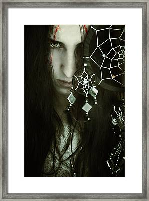 Dreamcatcher Framed Print by Cambion Art