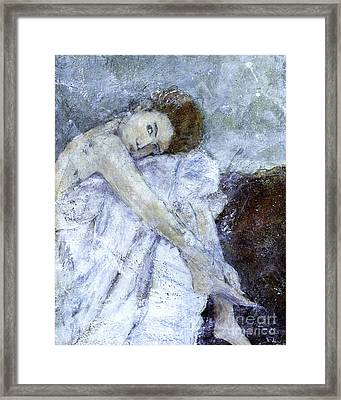 Dreaming  Framed Print by Barb Pearson