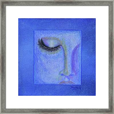 Dreaming In Whispers Framed Print by Donna Blackhall
