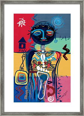 Dreaming Of Africa Framed Print by Oglafa Ebitari Perrin