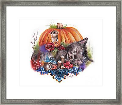 Dreaming Of Autumn Framed Print by Sheena Pike