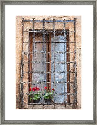 Dreaming Of Tuscany Framed Print by David Letts