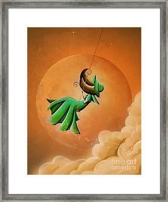 Dreamland Framed Print by Cindy Thornton