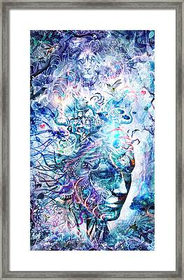 Dreams Of Unity Framed Print by Cameron Gray