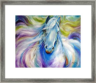 Dreamscape Freisian Framed Print by Marcia Baldwin