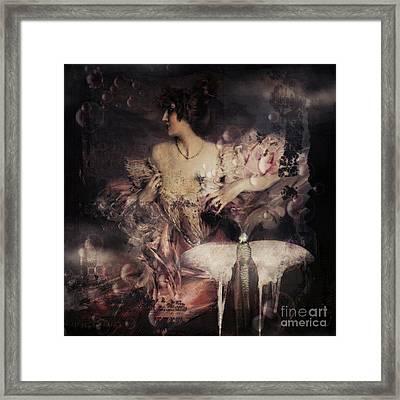 Dreamy Framed Print by Monique Hierck