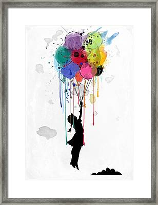 Drips Framed Print by Mark Ashkenazi